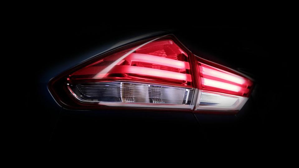 Reprofiled Taillamps Of Maruti Suzuki Ciaz Facelift Teased