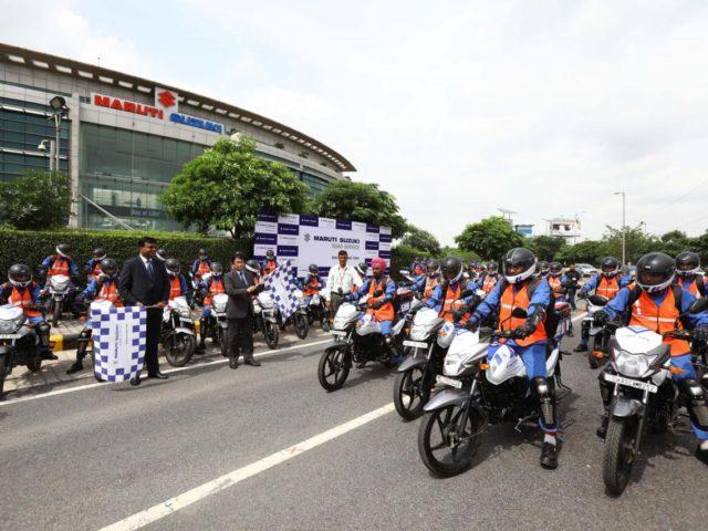 Maruti Suzuki Launches 'Quick Response Team On Bikes'
