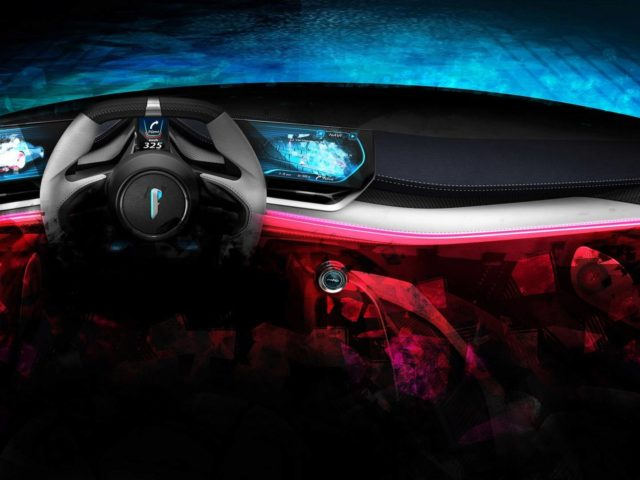 Pininfarina PF0's Dashboard Design Teased