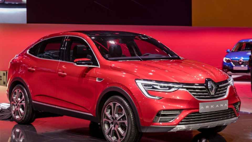 Renault Arkana Breaks Cover In Moscow