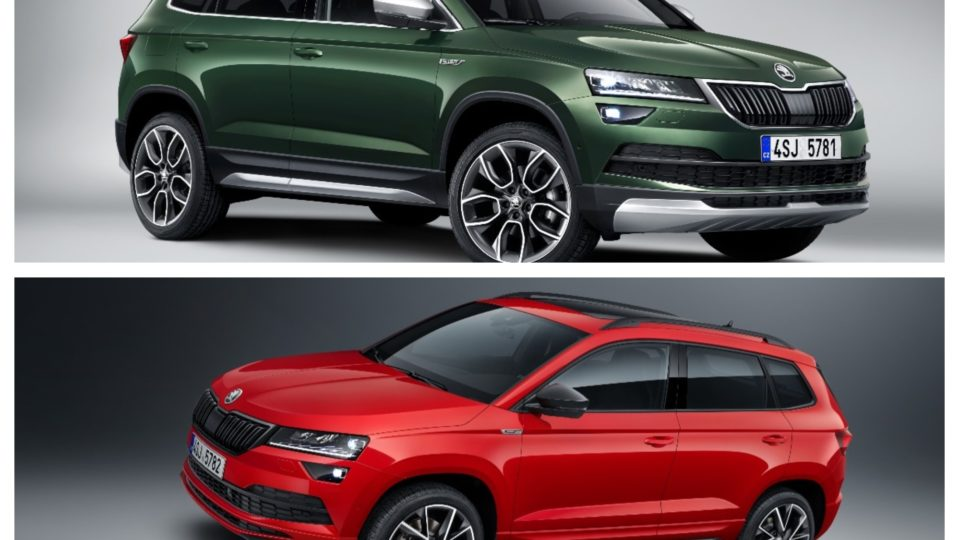 Skoda Reveals Two New Variants Of Karoq