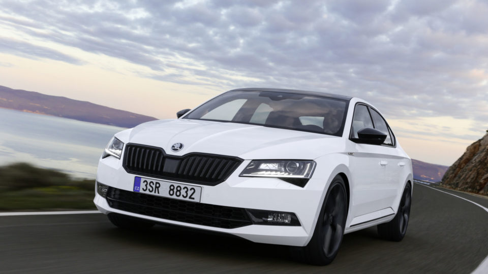 Skoda Superb Sportline Listed On Company's India Website