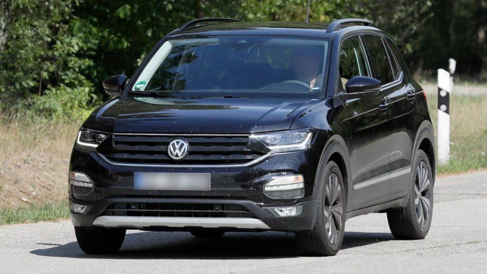 India-Bound Volkswagen T-Cross Spied Almost Undisguised