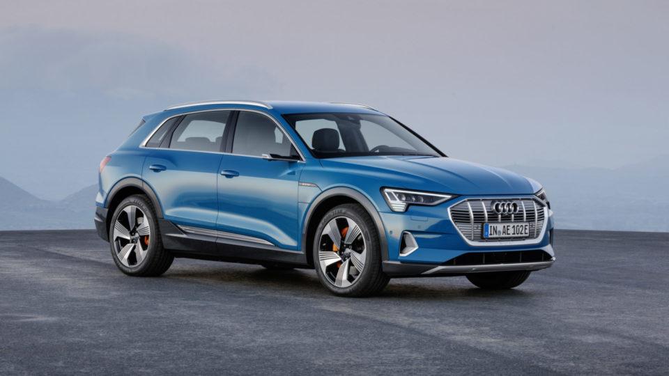 Audi e-Tron Finally Breaks Cover