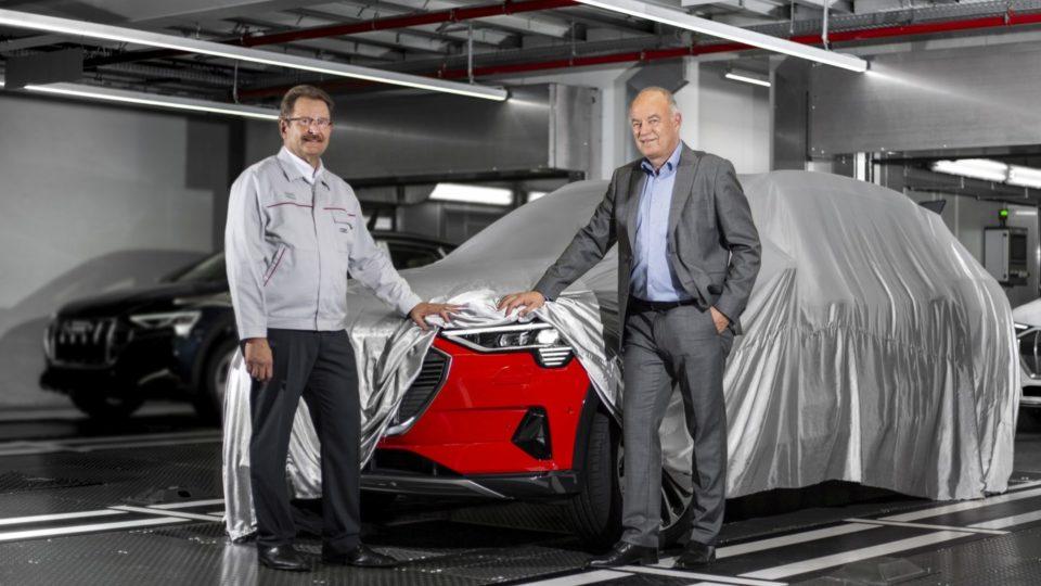 Audi e-Tron Enters Production