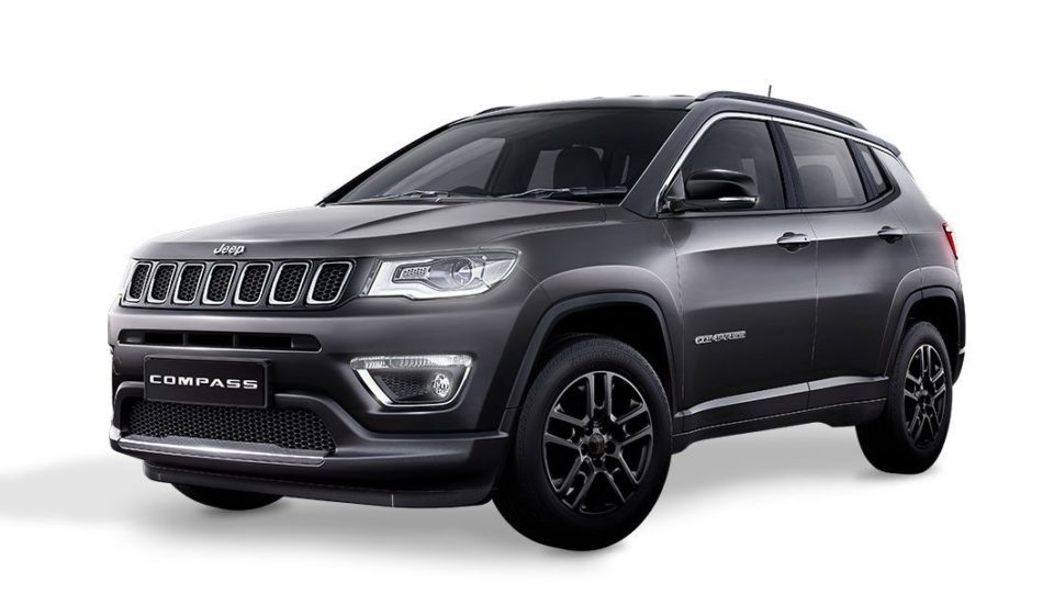 Jeep Compass Now Available With 'Black Pack'