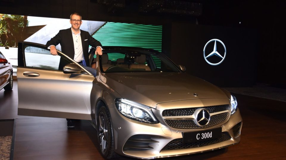 Mercedes-Benz C-Class Facelift Launched At Rs 40 Lakh