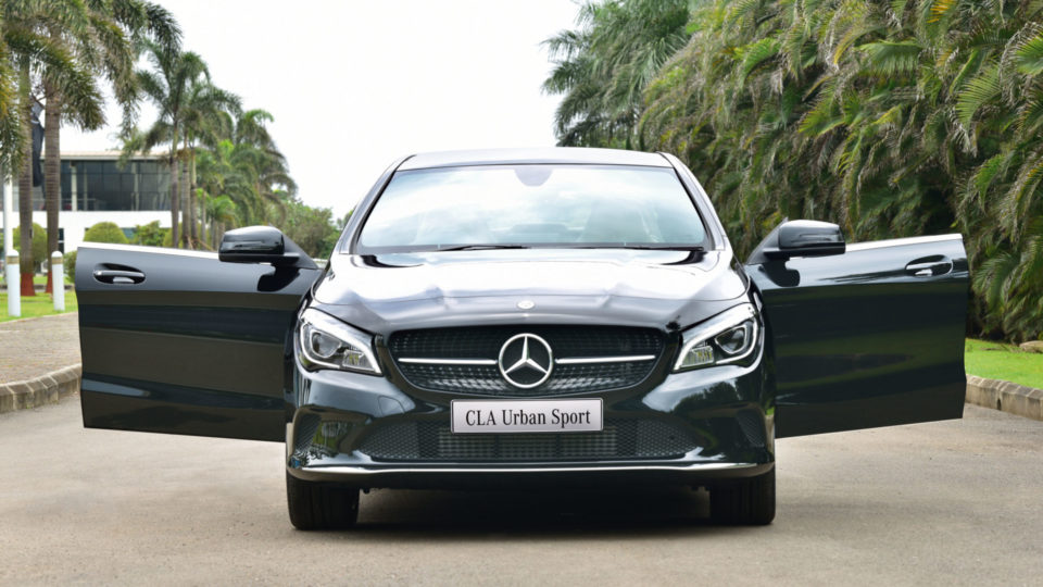 Mercedes-Benz CLA Urban Sport Launched At Rs 35.99 Lakh
