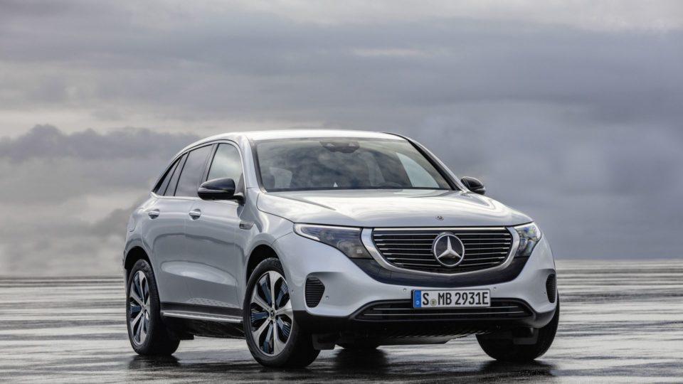 Mercedes-Benz EQC Sheds Cover