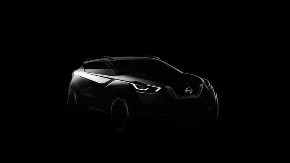India-Bound Nissan Kicks Teased