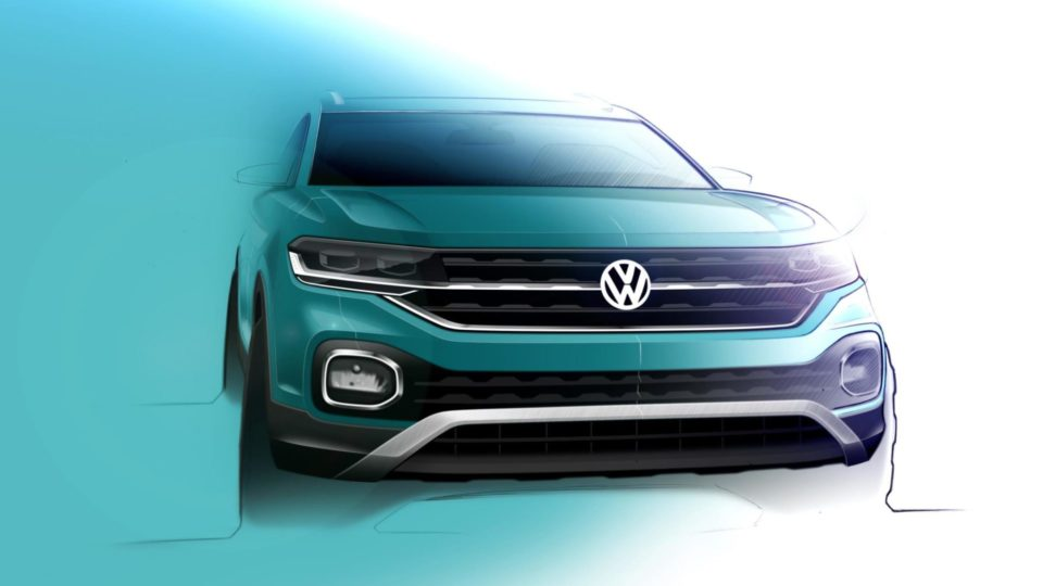 More Sketches Of Volkswagen T-Cross Surface
