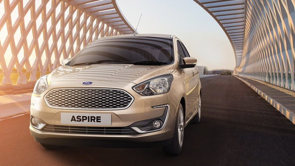 Ford Aspire Facelift Launched At Rs 5.55 Lakh