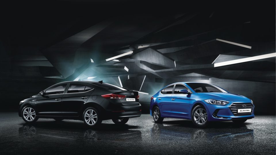 Hyundai Elantra Line-up Rejigged