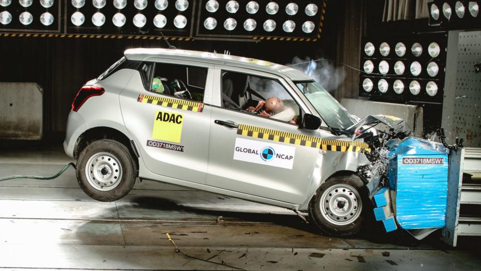 Maruti Suzuki Swift Crash-Tested By Global NCAP