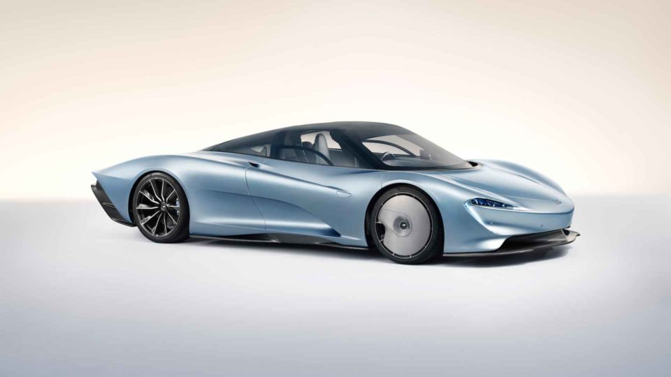 McLaren Speedtail Marries F1's Flamboyance With P1's Prowess