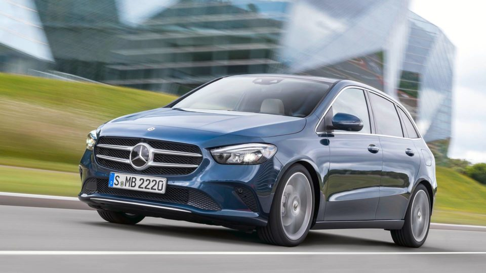 All-New Mercedes-Benz B-Class Revealed