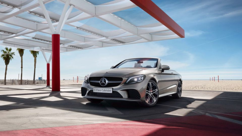 Mercedes-Benz C-Class Cabriolet Lands At Rs 65.25 Lakh