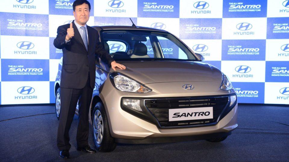 Hyundai Santro Begins New Innings Promisingly