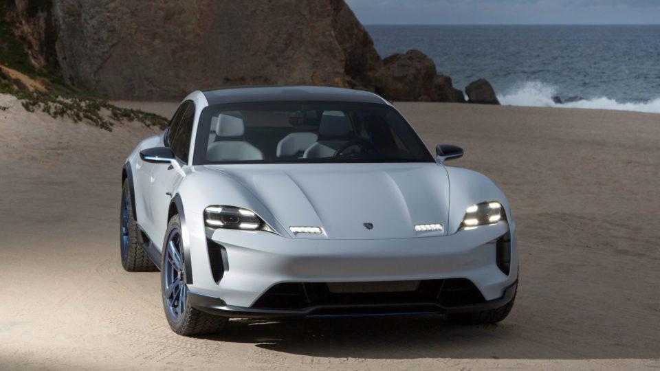 Porsche Mission E Cross Turismo Enters Production