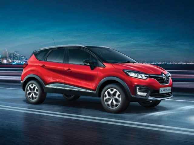 Renault Captur In Radiant Red Looks Stunning