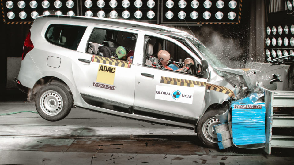Renault Lodgy Crash-Tested By Global NCAP