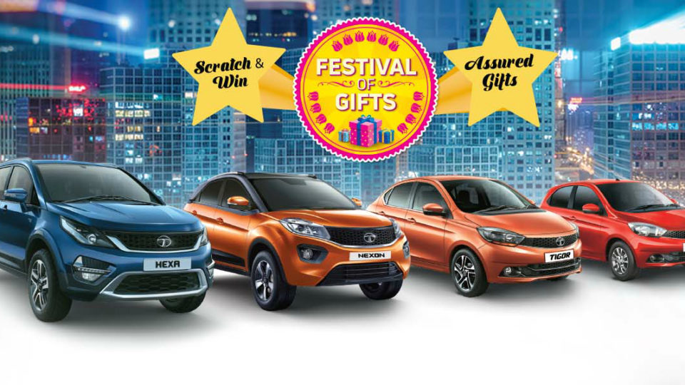 Tata Motors Launches 'Festival of Gifts' Campaign