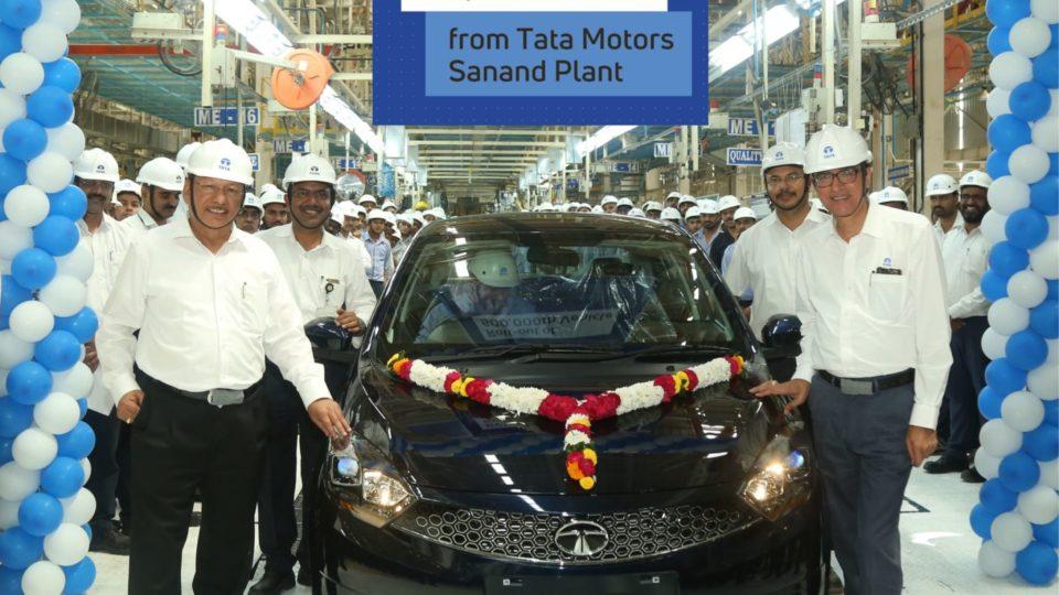 Tata Motors' Sanand Plant Surpasses 5 Lakh Production