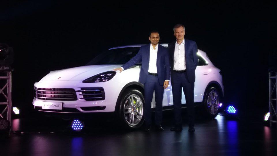 Third-Gen Porsche Cayenne Launched At Rs 1.19 Crore