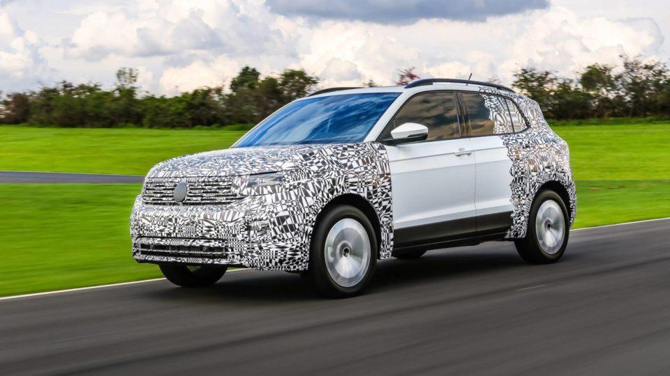 Volkswagen T-Cross World Debut On October 25
