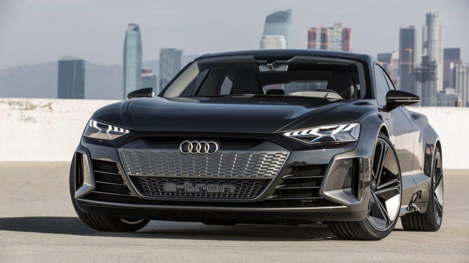 Audi e-tron GT Concept Wows Los Angeles