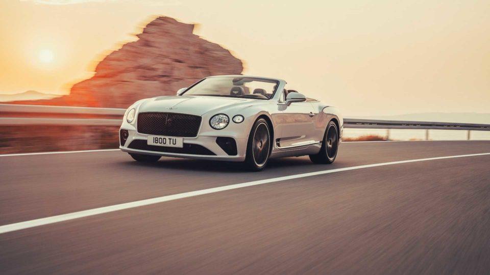 Bentley Continental GT Convertible Breaks Cover