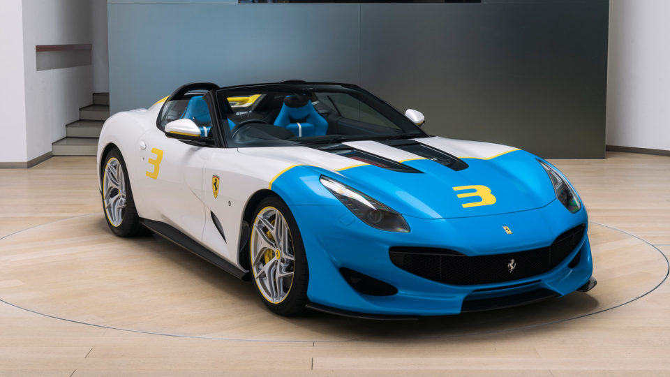 Meet The One-Off Ferrari SP3JC