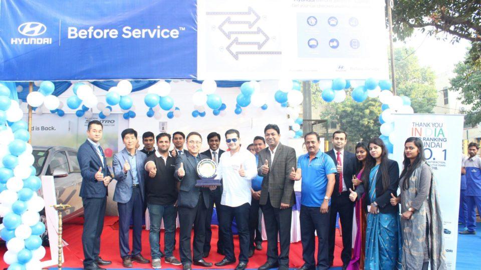 Hyundai Organises Free 'Before Service Camp'