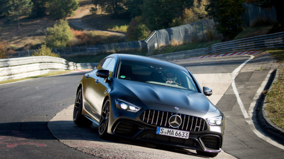 Mercedes-AMG GT 63 S 4MATIC+ Becomes Nürburgring Lap Record Holder