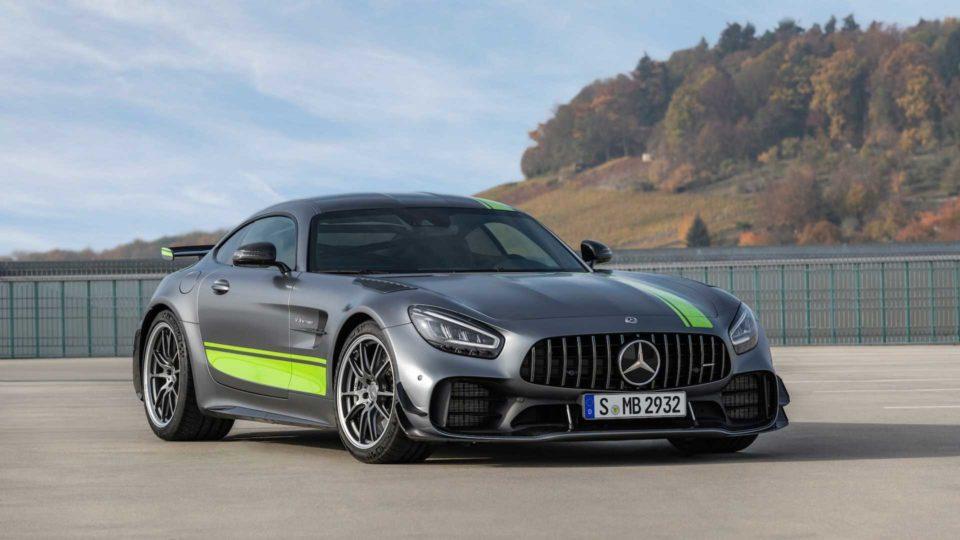 Updated Mercedes-AMG GT Range Breaks Cover