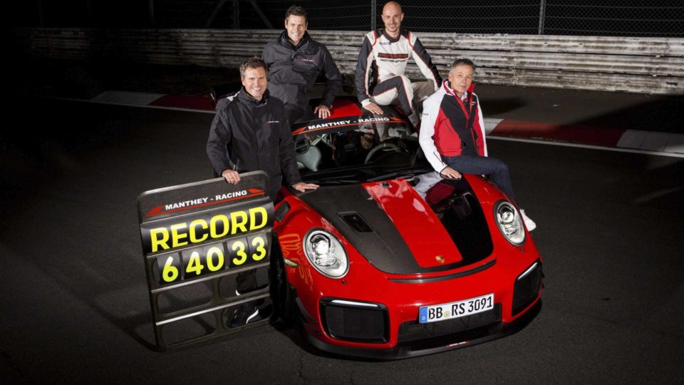 Porsche 911 GT2 RS MR: The New King Of The 'Ring