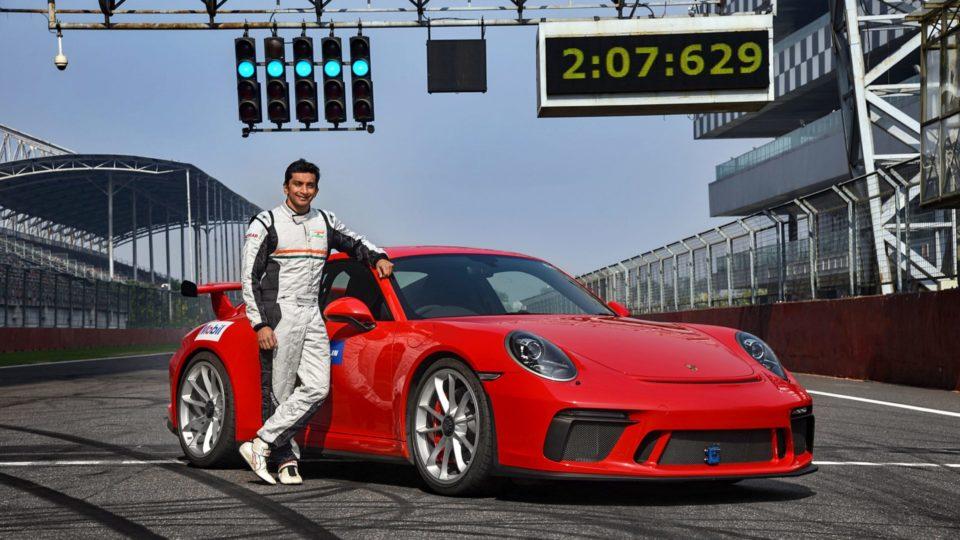 Porsche 911 GT3 Sets Lap Record At Buddh International Circuit
