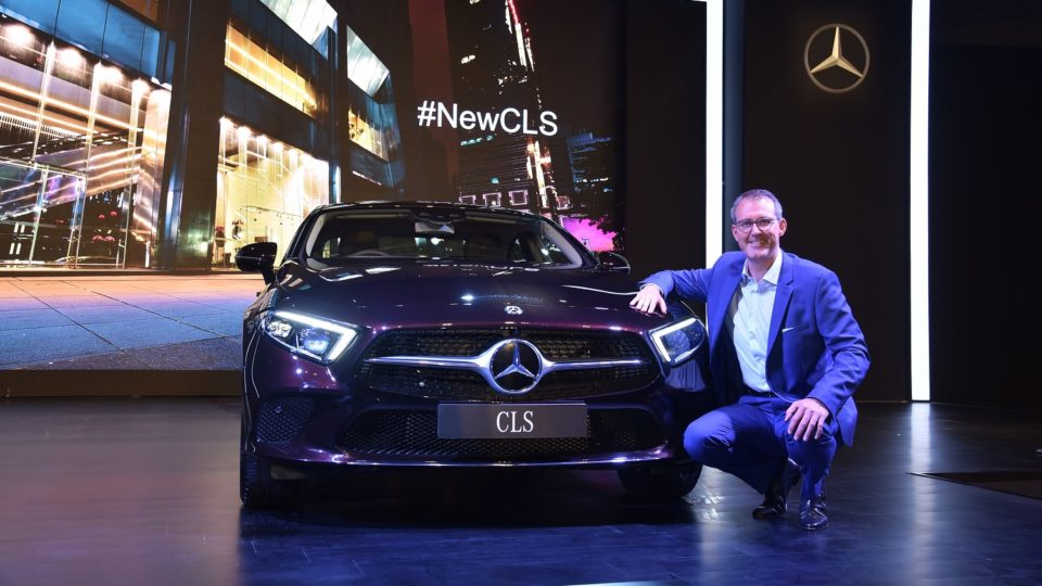 Third-Gen Mercedes-Benz CLS Launched At Rs 84.70 Lakh