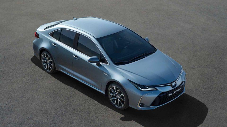 Twelfth-Gen Toyota Corolla Sedan Unveiled