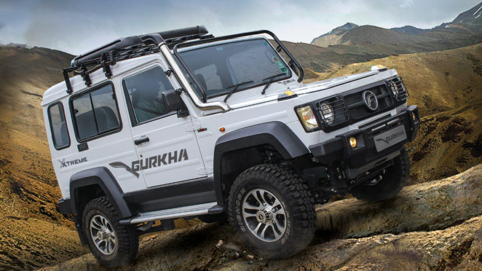 Force Gurkha Xtreme Launched At Rs 12.99 Lakh