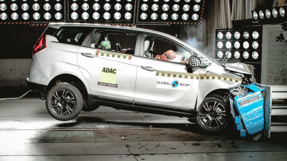 Mahindra Marazzo Crash-Tested By Global NCAP