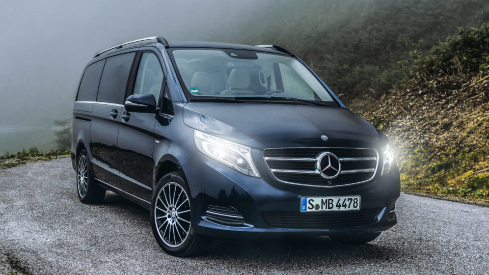Mercedes-Benz V-Class Launching On January 24, 2019