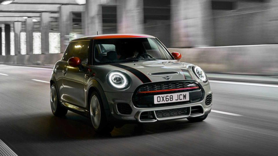 Refreshed Mini Cooper JCW Unveiled