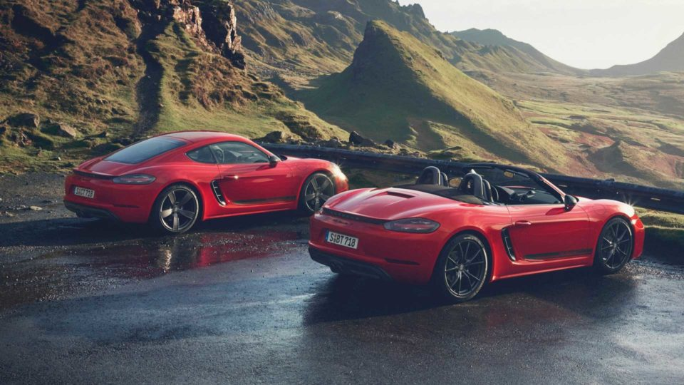 Porsche 718 Boxster And Cayman Receive Touring Treatment