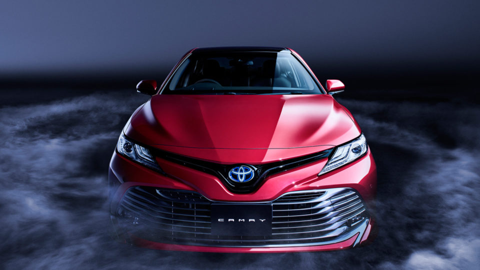All-New Toyota Camry Arriving On January 18, 2019
