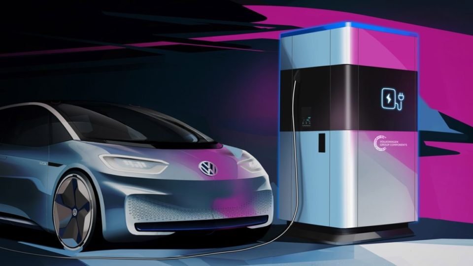 Volkswagen's Mobile Quick Charging Stations Will Enter Production In 2020