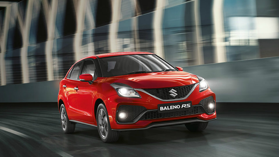 Maruti Suzuki Baleno RS Facelift Launched At Rs 8.76 Lakh
