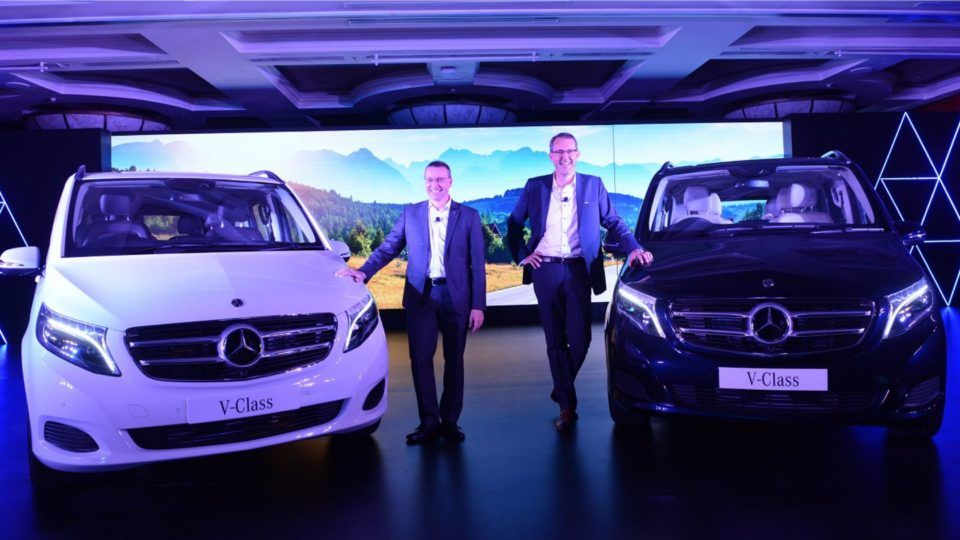 Mercedes-Benz V-Class Launched At Rs 68.4 Lakh
