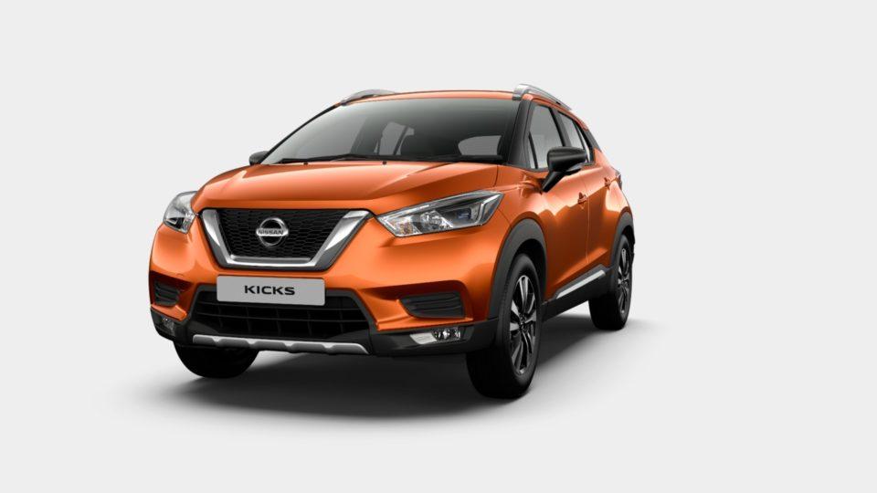 Nissan Kicks Trims Detailed