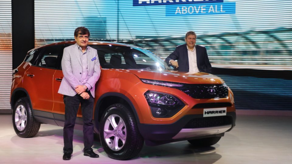 Tata Harrier Launched At Rs 12.69 Lakh